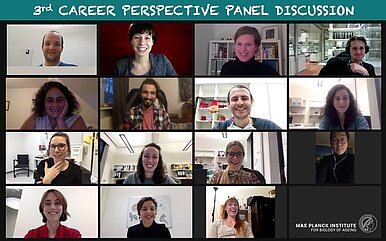 Panel members and Organizers of the 3rd Career Perspective Panel Discussion